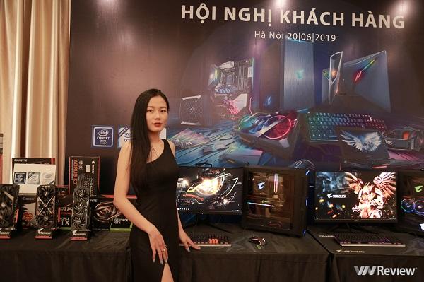 """Gigabyte, Intel """"trình làng"""" bộ sưu tập thiết bị game mới tại Việt Nam"""