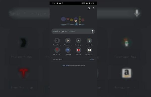 Hướng dẫn bật Dark Mode cho Chrome bản chính thức trên Android