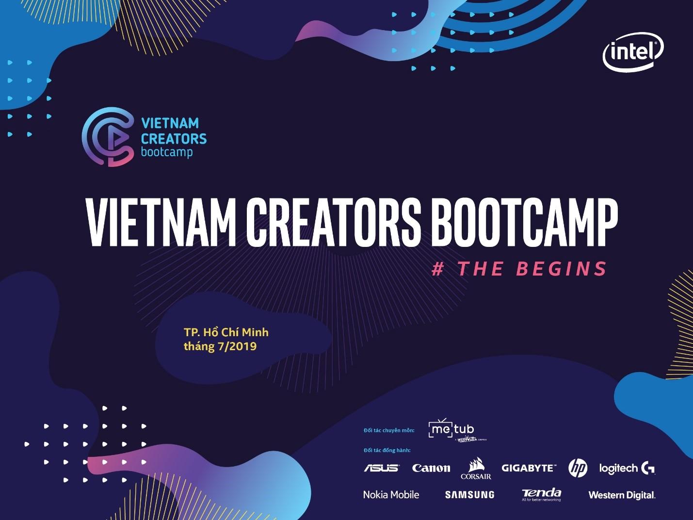 Sắp diễn ra Vietnam Creators Bootcamp: sân chơi lớn cho những ai yêu thích sáng tạo nội dung video