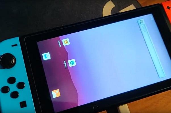 Xuất hiện bản mod giúp Nintendo Switch chạy Android