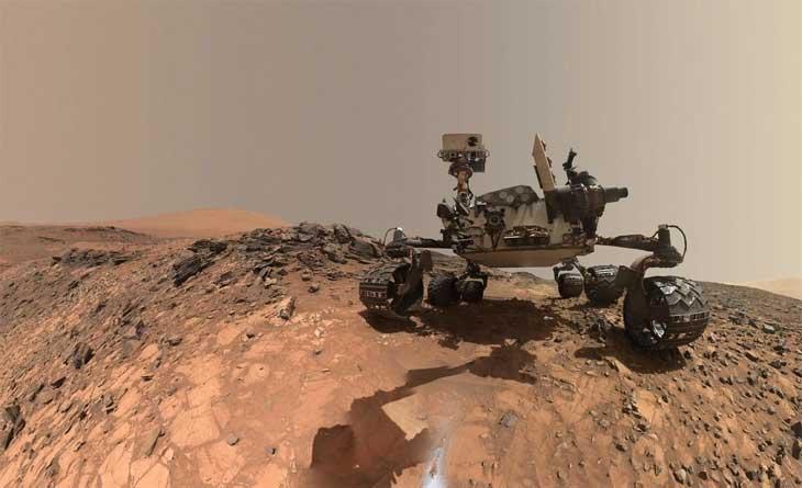 """Sao Hỏa vừa """"ợ"""" ra khí mêtan, khả năng là dấu hiệu của sự sống"""