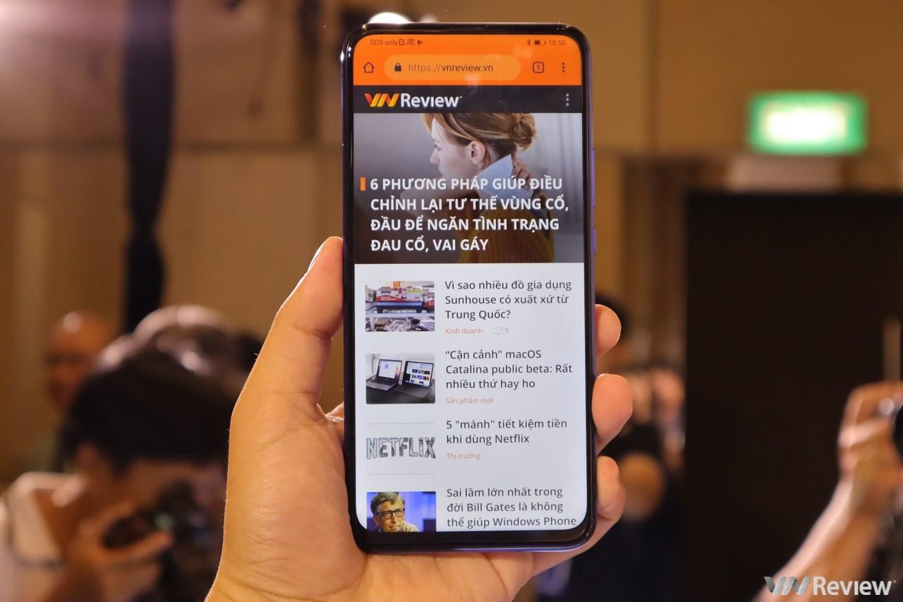 Huawei ra Y9 Prime 2019 tại VN, dùng Google, Facebook bình thường, camera thò thụt, giá 6,5 triệu đồng