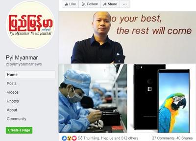 Báo Myanmar: bộ đôi Bphone 3 sẽ bán ra thị trường Myanmar từ đầu tháng 7