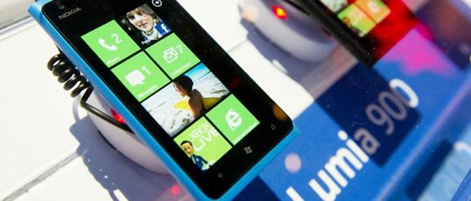 Windows Phone 8 chưa hỗ trợ Nokia Lumia