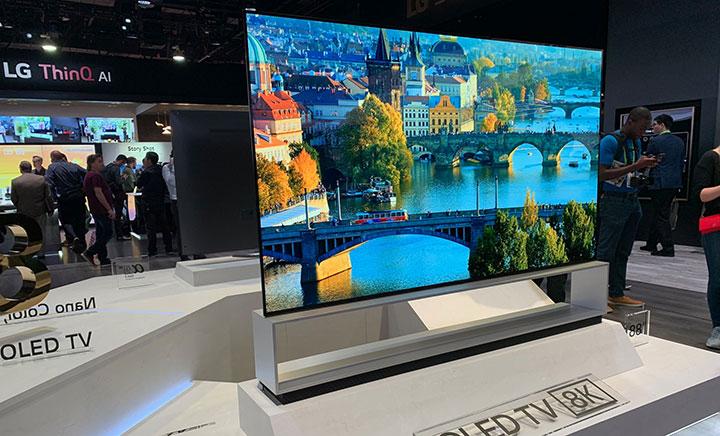 TV OLED tăng trưởng mạnh trong quý 1 năm 2019