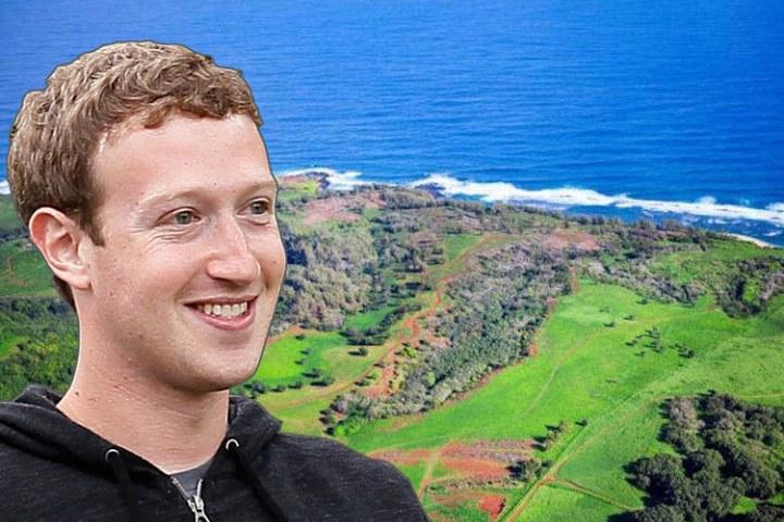 Miếng đất khổng lồ trị giá 100 triệu USD Mark Zuckerberg mua trên đảo Hawaii có gì hot?