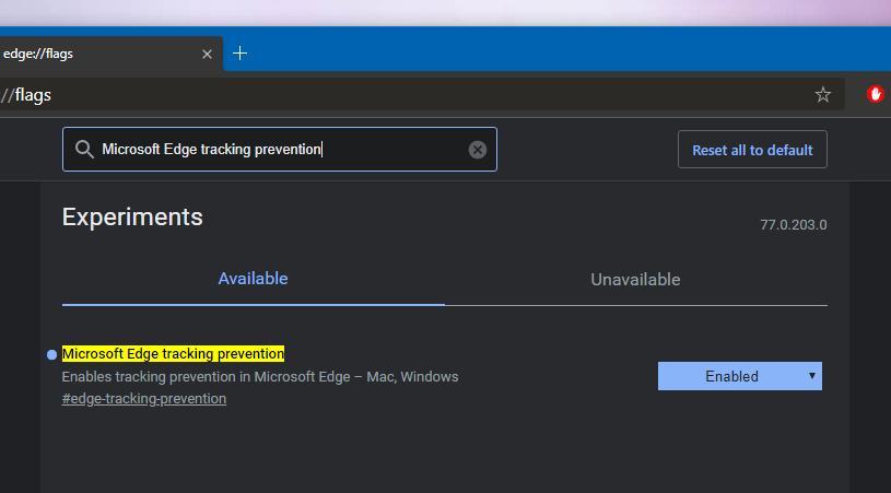 Microsoft tung ra công cụ ngăn chặn theo dõi cho Edge Chromium