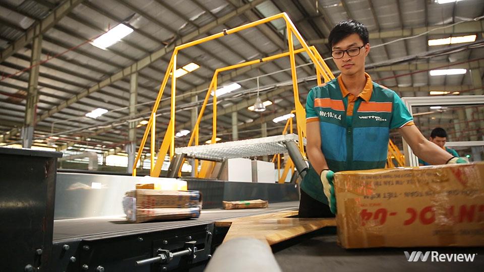 Đột nhập trung tâm chia chọn bưu phẩm tự động lớn nhất Việt Nam của Viettel Post - Ảnh 5.