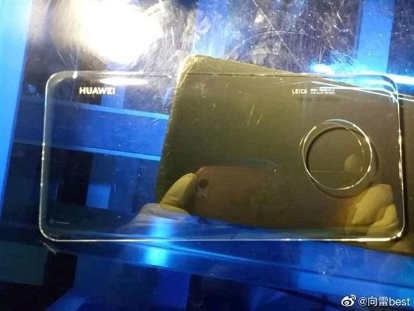 Rò rỉ hình ảnh Huawei Mate 30 có cụm 4 camera hình tròn