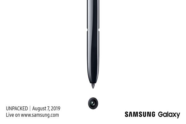 Chính thức: Samsung sẽ giới thiệu Galaxy Note10 vào ngày 7 tháng 8