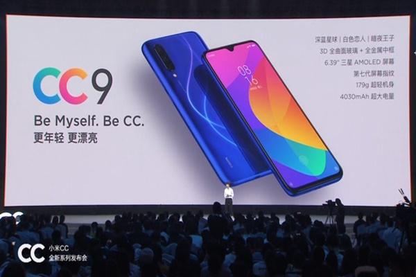 Xiaomi Mi CC 9 chính thức: màn OLED 6.4 inch, Snapdragon 710, camera 32+48MP, giá 6 triệu đồng