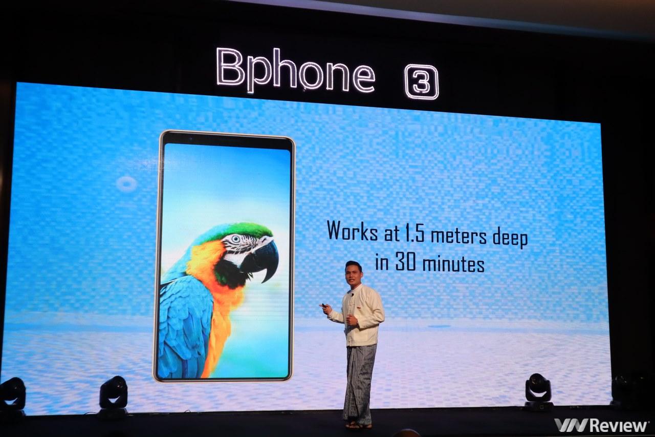 Bphone 3 chính thức ra mắt tại Myanmar,