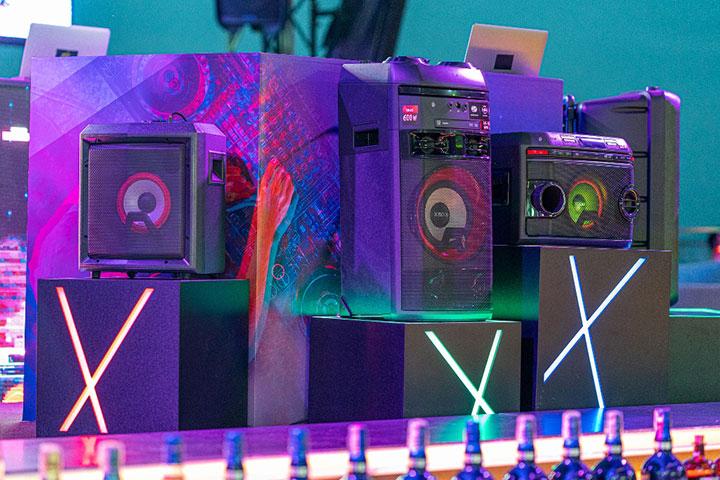 """LG bán đồ âm thanh ở Việt Nam, ra mắt cùng lúc 4 mẫu loa """"tiệc tùng"""" XBOOM"""