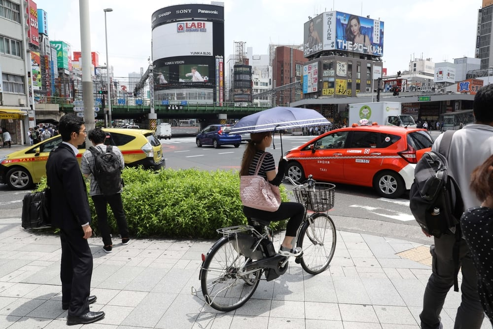 Chuyện lạ ở Nhật: thuê xe nhưng... không dùng để đi