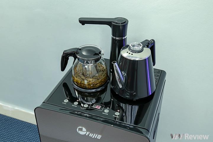 Trải nghiệm cây nước Fujie WD1170C: hình thức đẹp, làm lạnh như tủ lạnh, tích hợp ấm pha trà