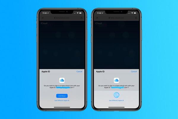 Apple thử nghiệm đăng nhập bằng Face ID và Touch ID cho iCloud.com trên iOS 13 và macOS Catalina beta