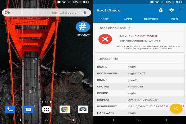Làm sao để kiểm tra một thiết bị Android đã root hay chưa?