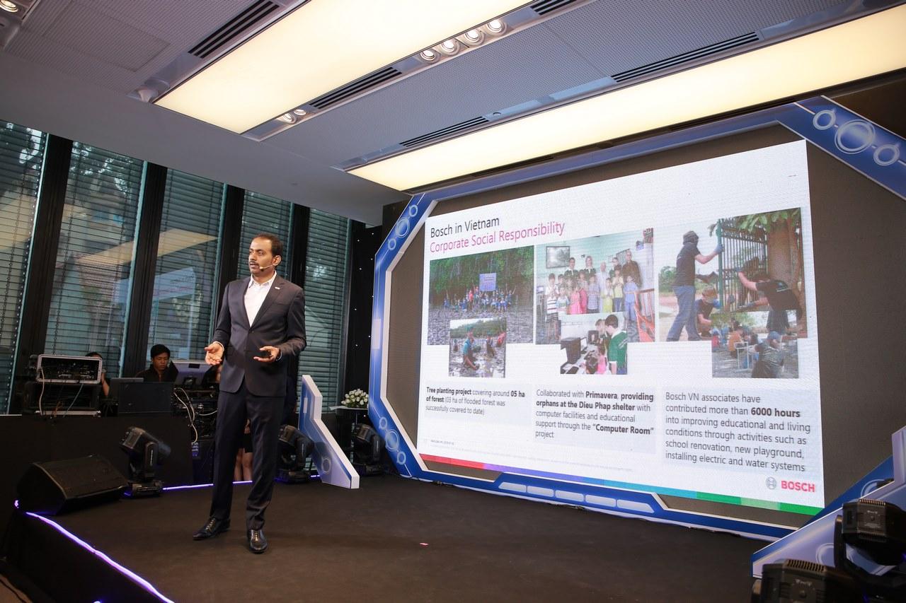 Bosch sẽ đầu tư 100 triệu USD để mở rộng nhà máy tại Việt Nam trong 5 năm tới, đẩy mạnh nghiên cứu công nghệ ô tô