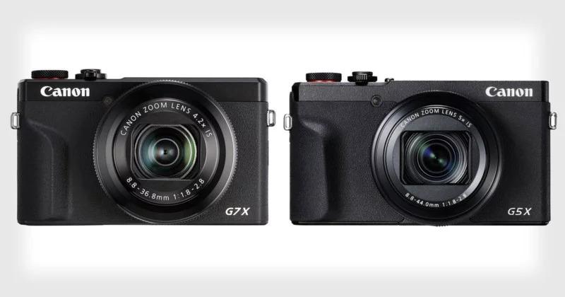 Canon giới thiệu bộ đôi máy ảnh PnS PowerShot G7 X Mark III và G5 X Mark II