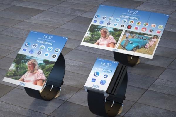 """IBM có bằng sáng chế cho smartwatch """"biến hình"""" thành smartphone, tablet"""