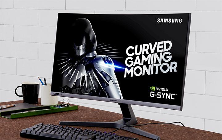 Samsung mở bán màn hình game cong CRG5 đầu tiên ở VN: 27 inch, giá 10,89 triệu đồng