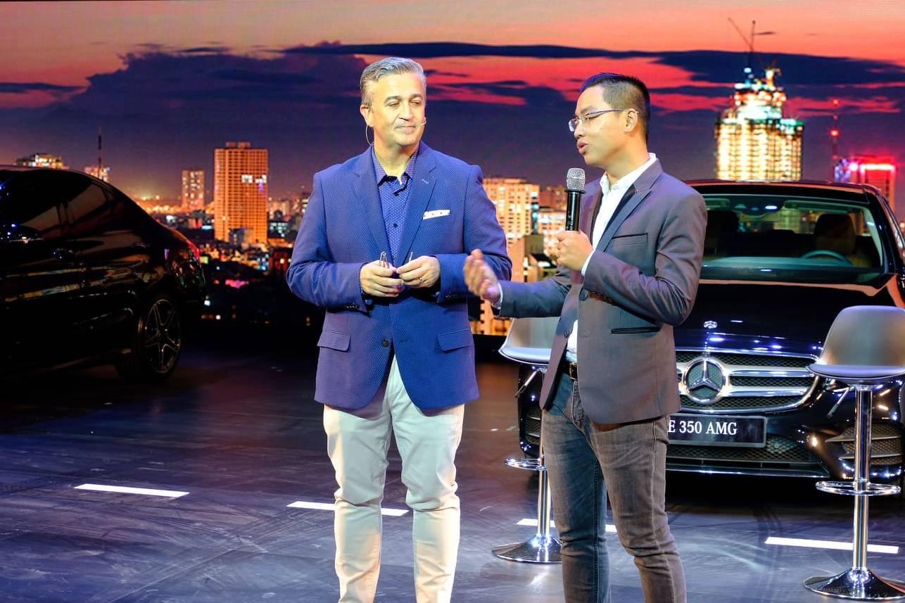 Mercedes-Benz giới thiệu tổng giám đốc mới tại sự kiện lớn nhất trong năm