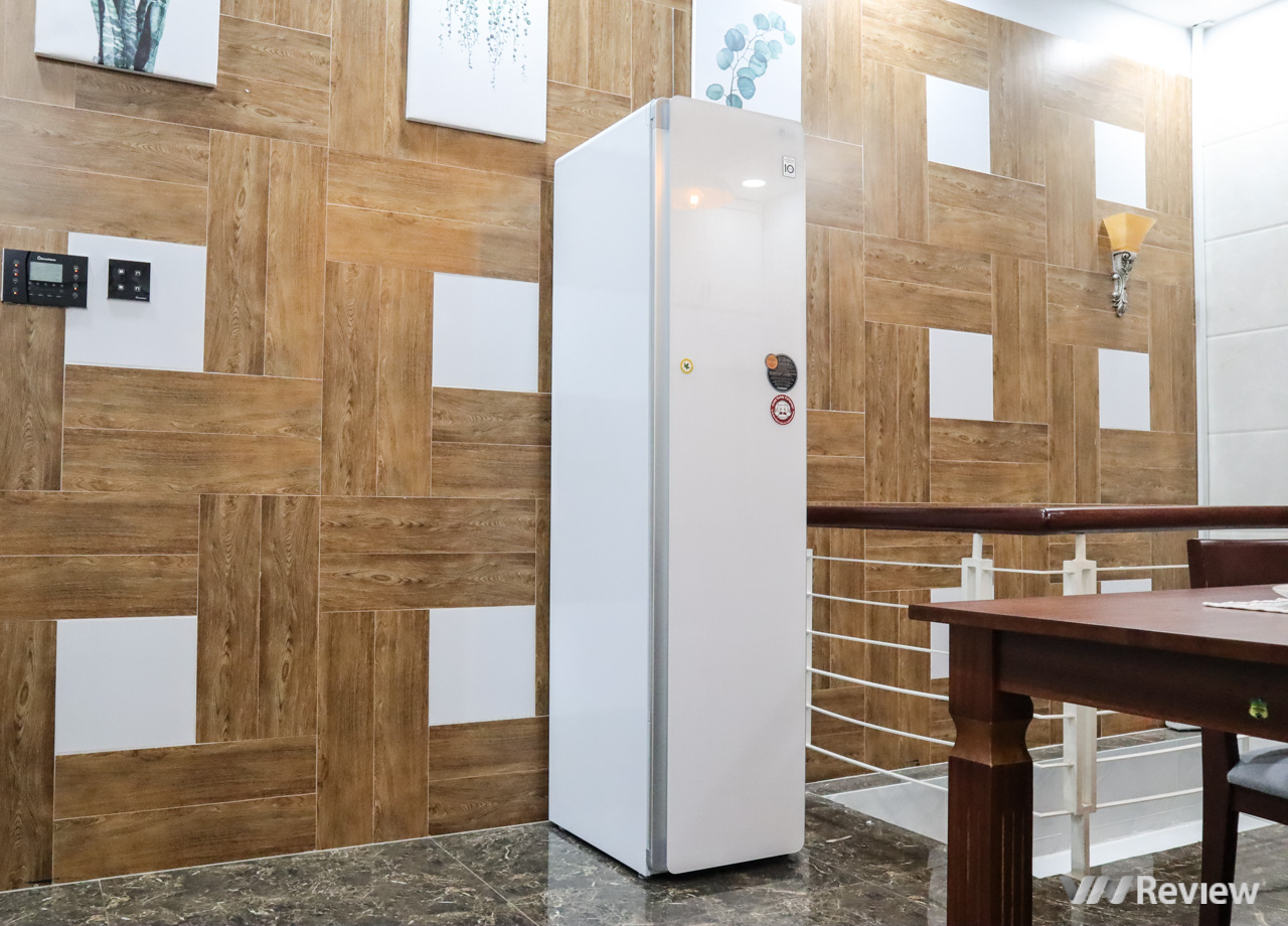 Đánh giá LG Styler: có gì bên trong tủ chăm sóc quần áo giá 50 triệu đồng?