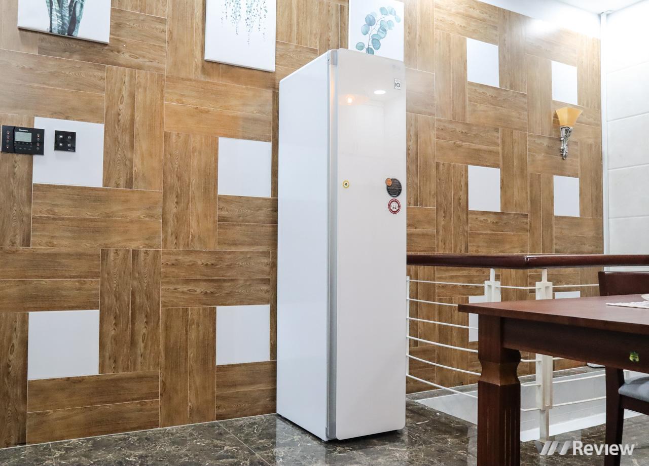 Đánh giá LG Styler: tủ chăm sóc quần áo giá 50 triệu đồng