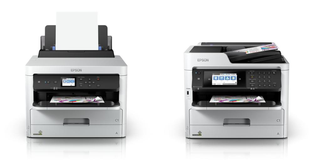 Epson tung bộ đôi máy in phun văn phòng tốc độ cao khổ A4 tại VN, có WiFi, NFC, giá từ 5 triệu đồng