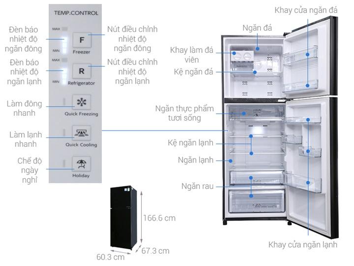 Top 5 tủ lạnh trang bị công nghệ Inverter bán chạy nhất hiện nay
