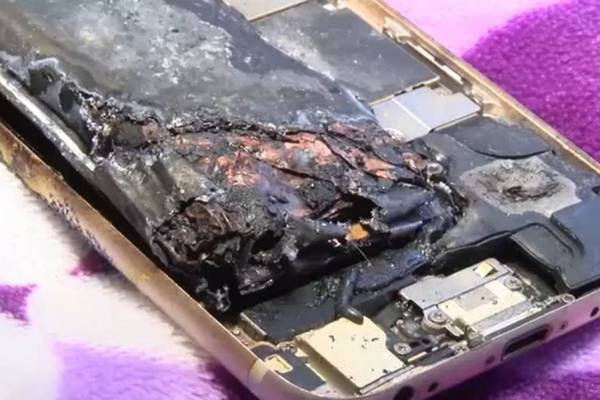 iPhone 6 phát nổ khi đang xem video YouTube, chủ nhân may mắn không sao