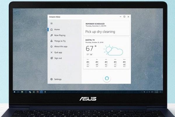 Windows 10 cho phép kích hoạt trợ lý ảo Alexa ngay cả trên màn hình bị khóa