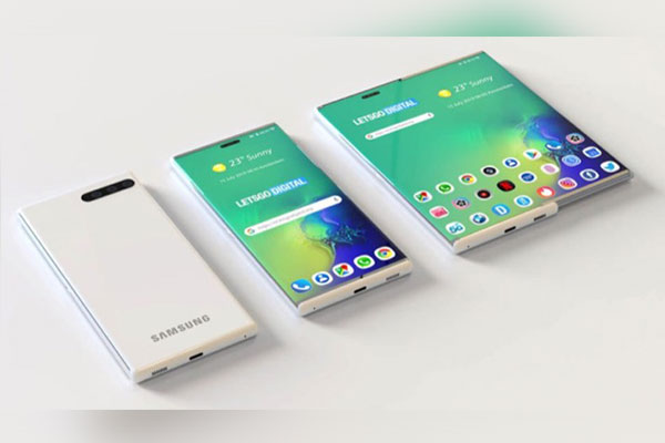 Hết màn hình gập, Samsung đăng ký bằng sáng chế cho smartphone màn hình kéo