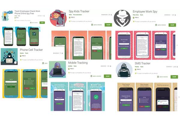Google gỡ hàng loạt ứng dụng stalkerware trên Play Store