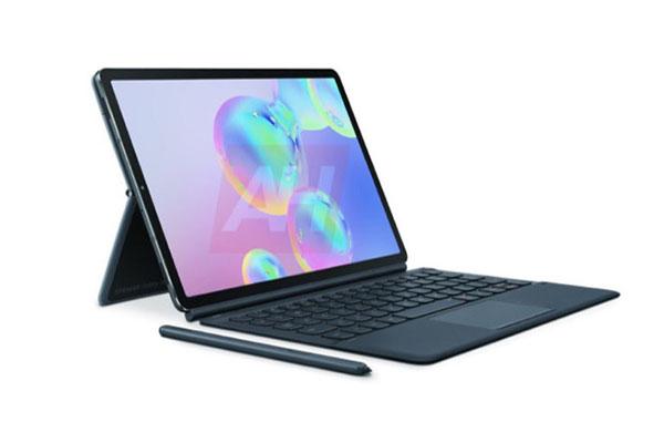 Lộ ảnh chính thức Galaxy Tab S6, bút S Pen gắn lên mặt lưng