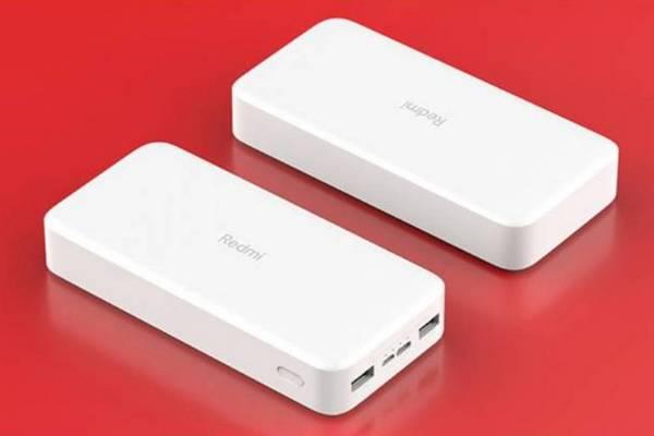 Redmi ra mắt pin dự phòng 10.000mAh và 20.000mAh, giá chỉ từ 9 USD