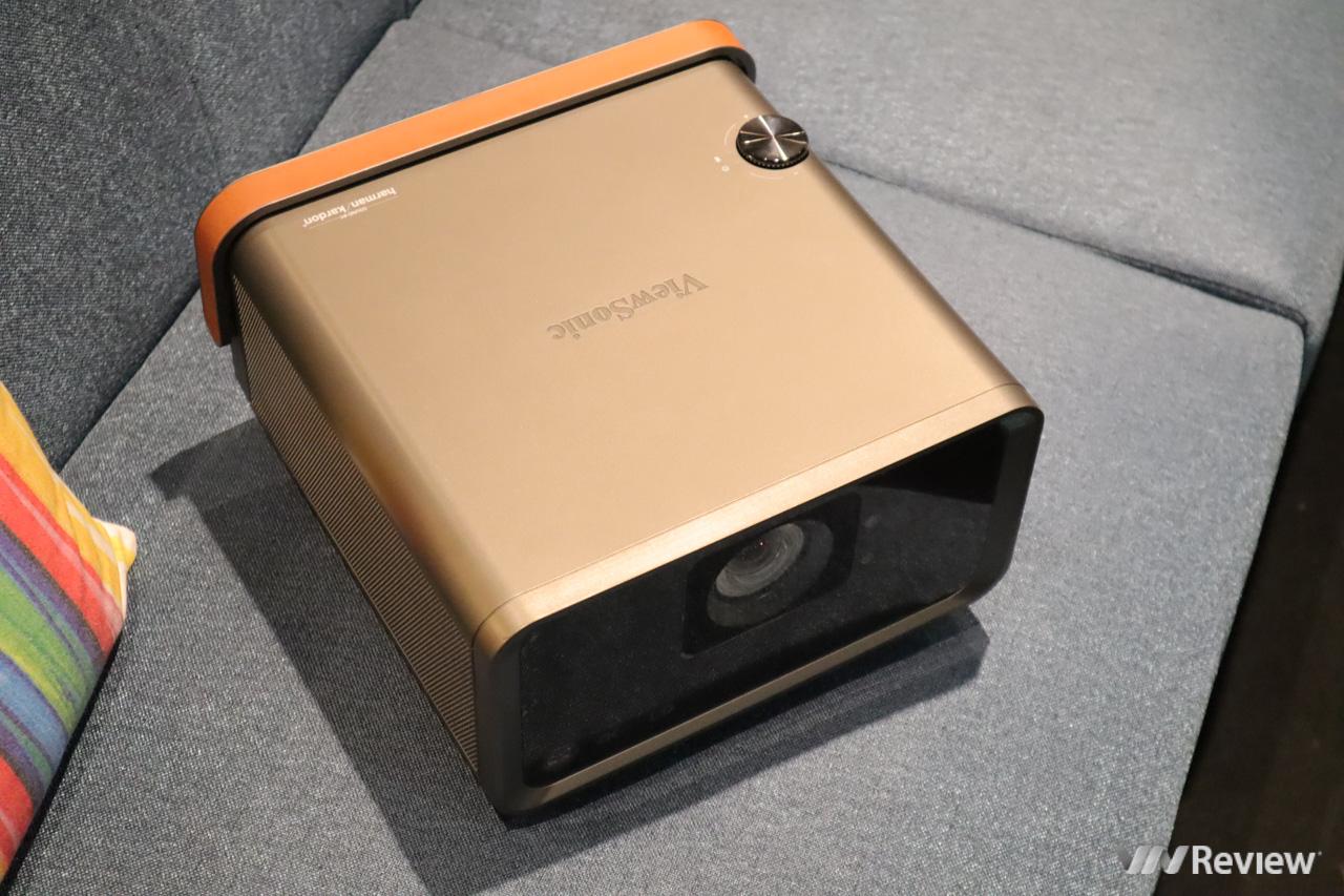 ViewSonic X10-4K: máy chiếu 4K chạy Android, có loa kép Harman Kardon, HDR, hỗ trợ Amazon Alexa & Google Assistant về VN, giá 49 triệu đồng