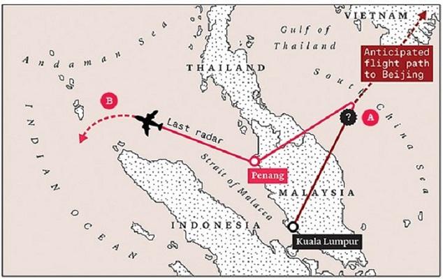 Chuyện gì đã thực sự xảy ra với máy bay mất tích Malaysia MH370? (phần 2)
