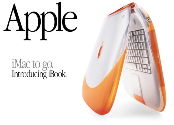 Cách đây 20 năm, Steve Jobs đã giới thiệu chiếc iBook hỗ trợ mạng không dây đầu tiên