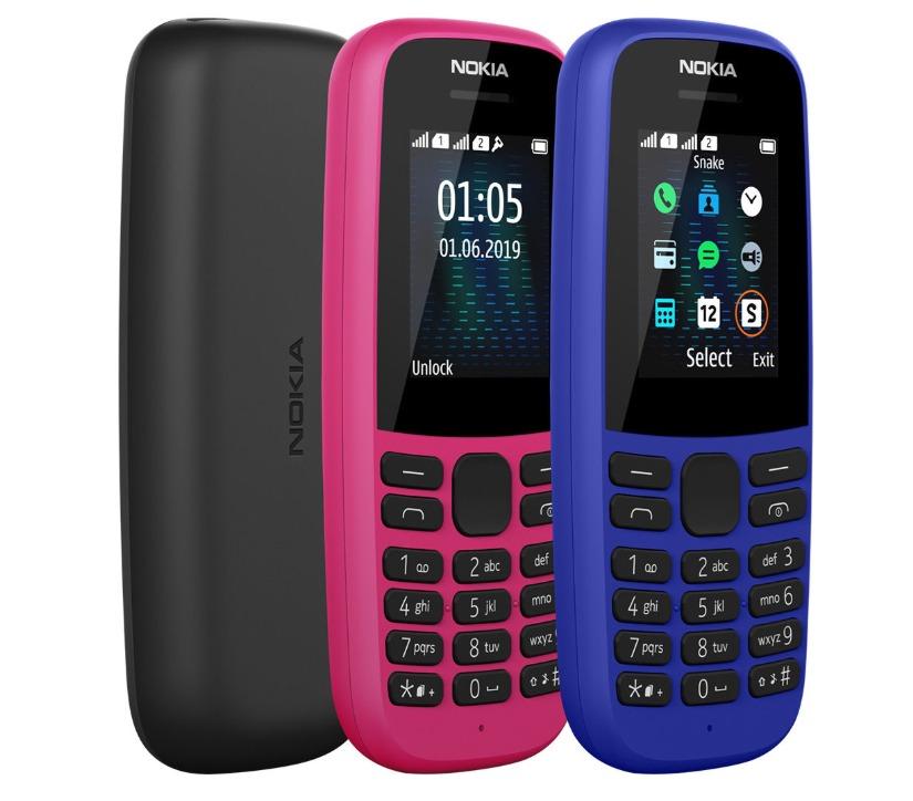 HMD Global công bố Nokia 220 4G và Nokia 105 (2019)