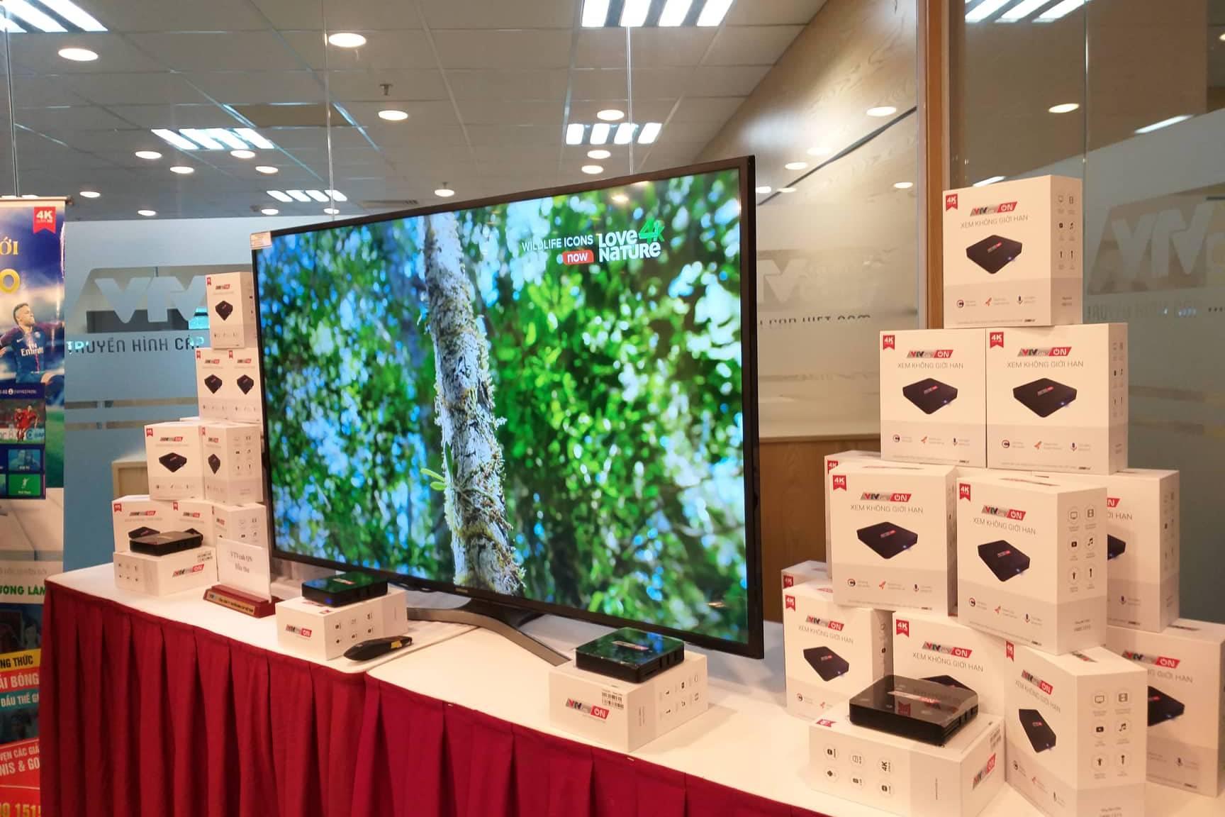 Ra mắt dịch vụ truyền hình VTVcab ON giá từ 66.000 đồng/tháng
