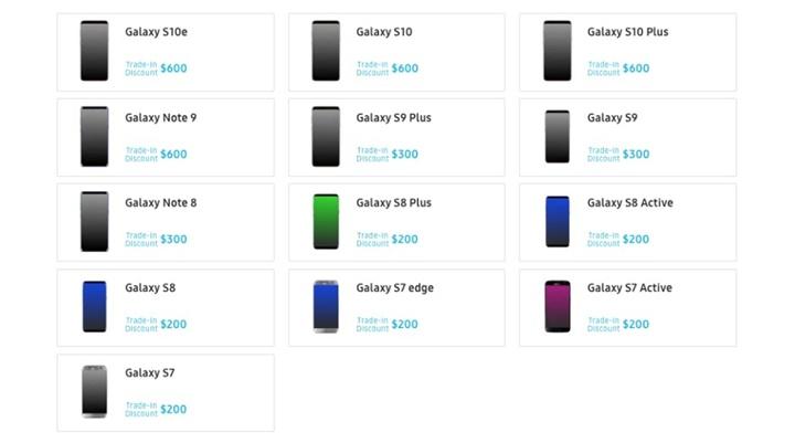 Samsung định giá điện thoại cũ đến 600 USD khi đổi Galaxy Note10