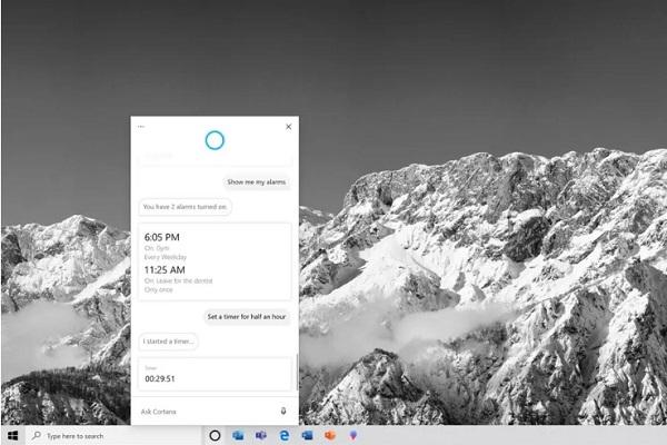 Microsoft ra mắt ứng dụng Cortana mới trên Windows 10