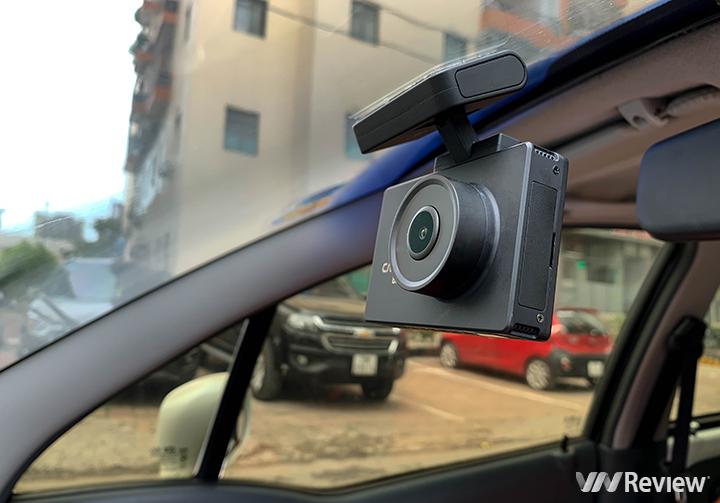 Trên tay camera hành trình Cacago BM05: đủ 2 camera trước sau, ghi hình 4K, màn OLED
