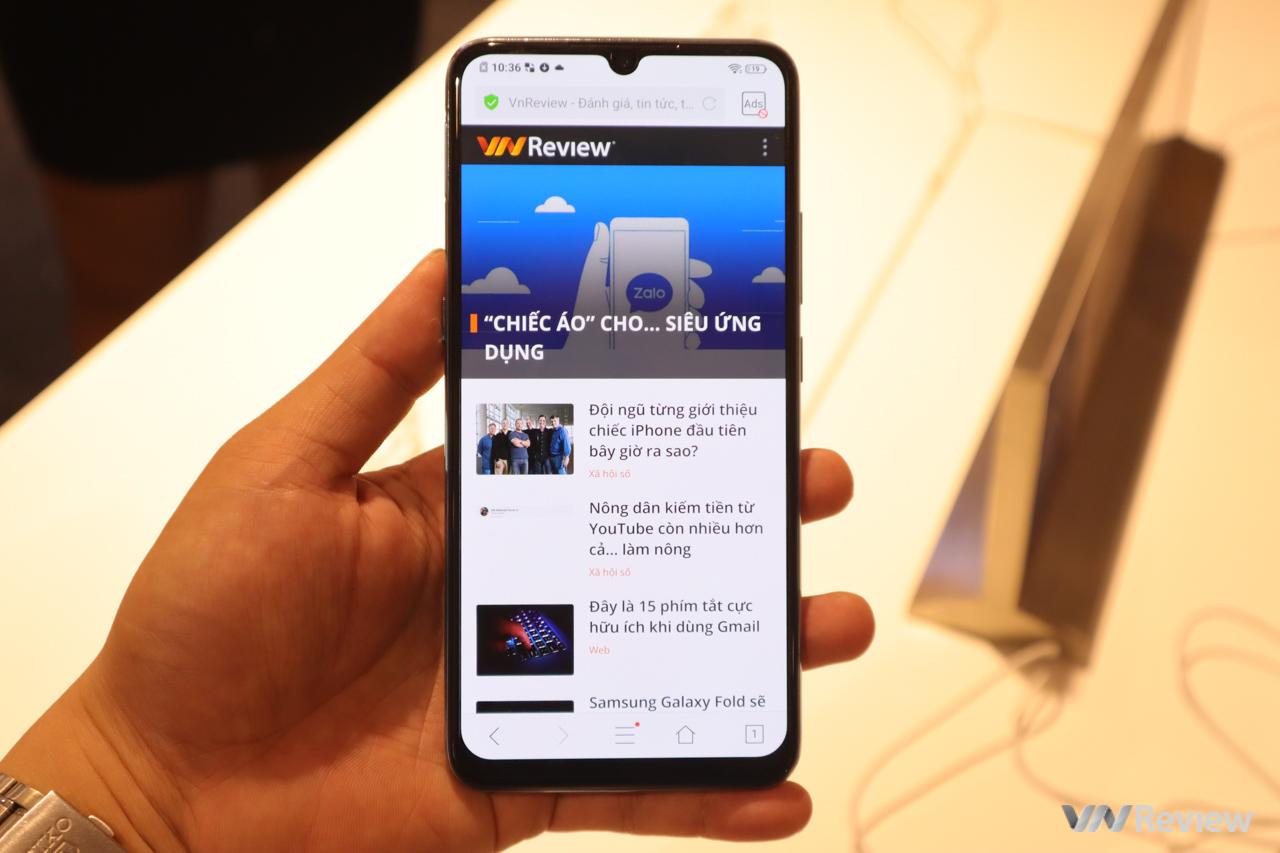 Vivo S1 ra mắt tại VN: pin 4500 mAh, 3 camera sau, vân tay trong màn hình tốc độ nhanh