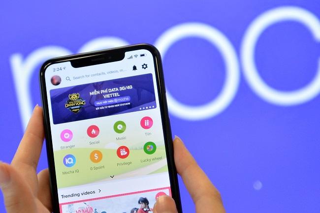Mạng xã hội Mocha của Viettel tăng trưởng mạnh, đạt 7 triệu người dùng mỗi tháng