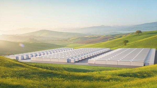 """Tesla tiếp tục """"chơi lớn"""" với dự án siêu pin Megapack"""