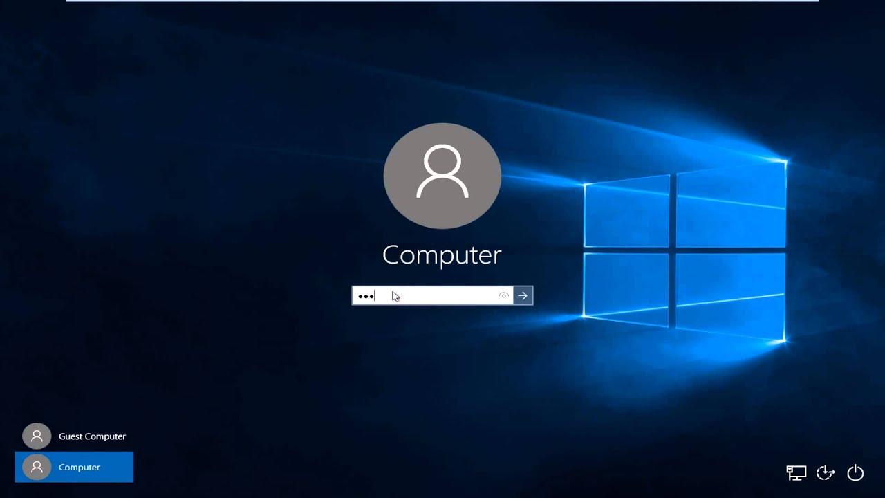 Nên chọn loại tài khoản người dùng nào khi thiết lập Windows 10?