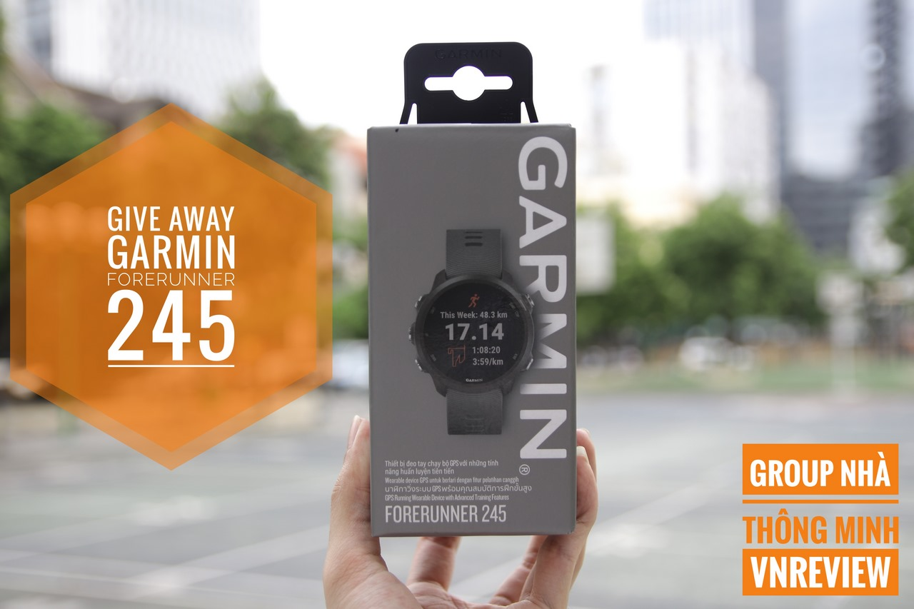 Mời tham gia Group Nhà Thông Minh – VnReview cơ hội nhận ngay smartwatch Garmin Forerunner 245
