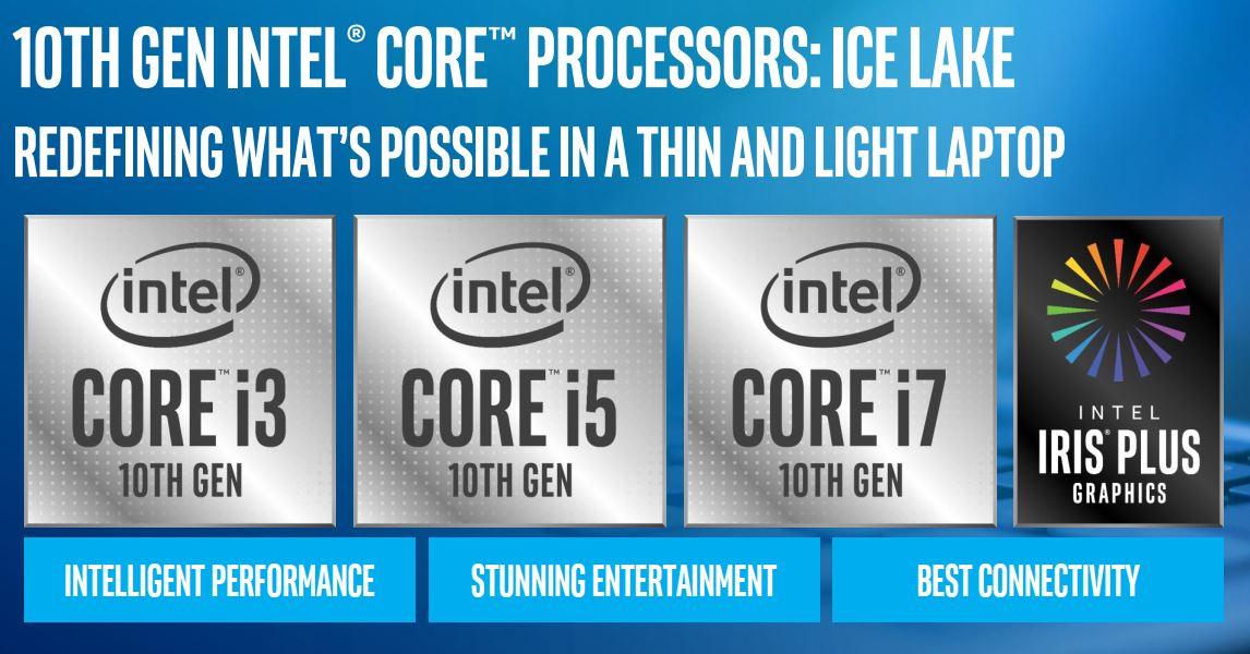 Intel chính thức công bố 11 mẫu CPU Ice Lake thế hệ 10 đầu tiên, nâng tầm cho laptop lai 2 trong 1